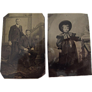 Pair of Tintypes
