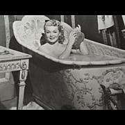 Three Early Movie Stills,Clark Gable, Betty Grable,Tyrone Power