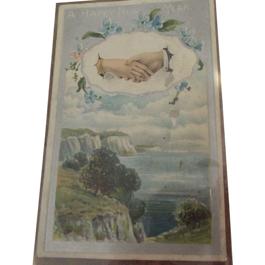 New Years Postcard 1910