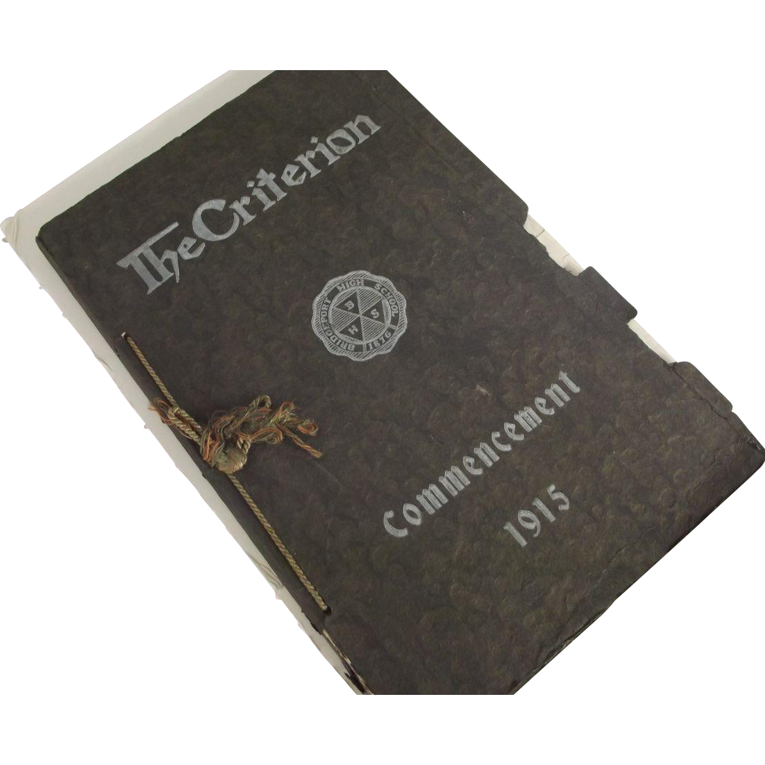 Year Book From 1915 The Criterion Bridgeport High School