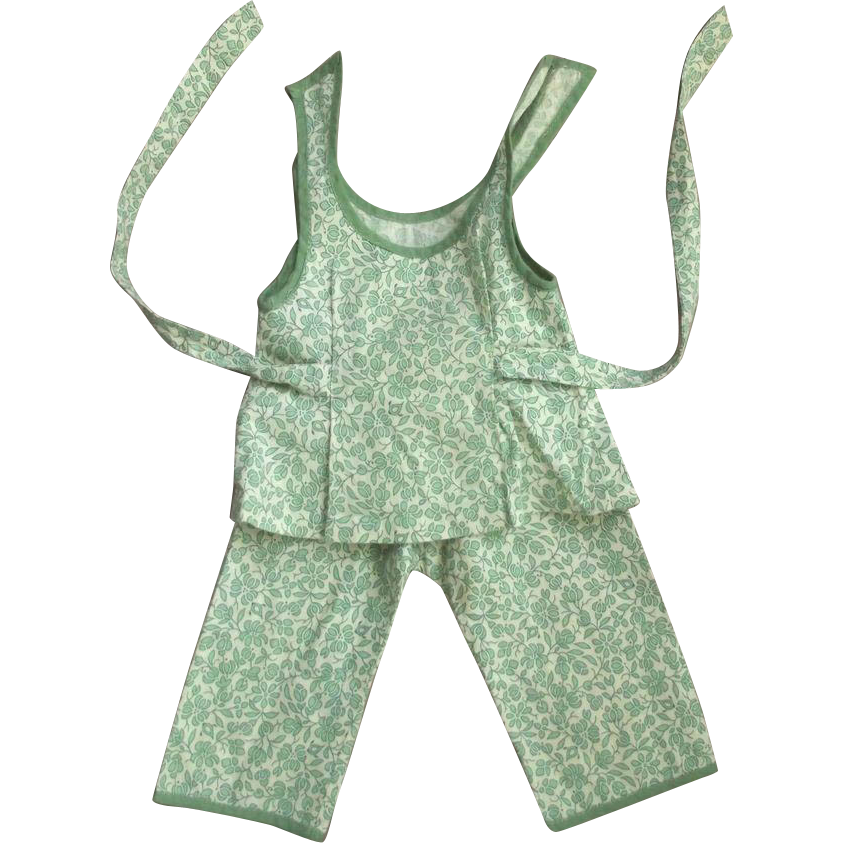 Doll Play Suit 1950's