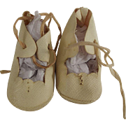 Oil Cloth Doll  Shoes