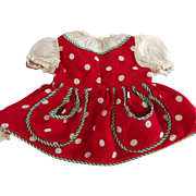 Polka Dot Doll Dress