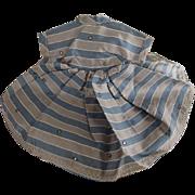 Small Taffeta Dress For 50's Fashion Doll