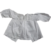 Victorian/Edwardian Baby Top, For Large Doll, Bear