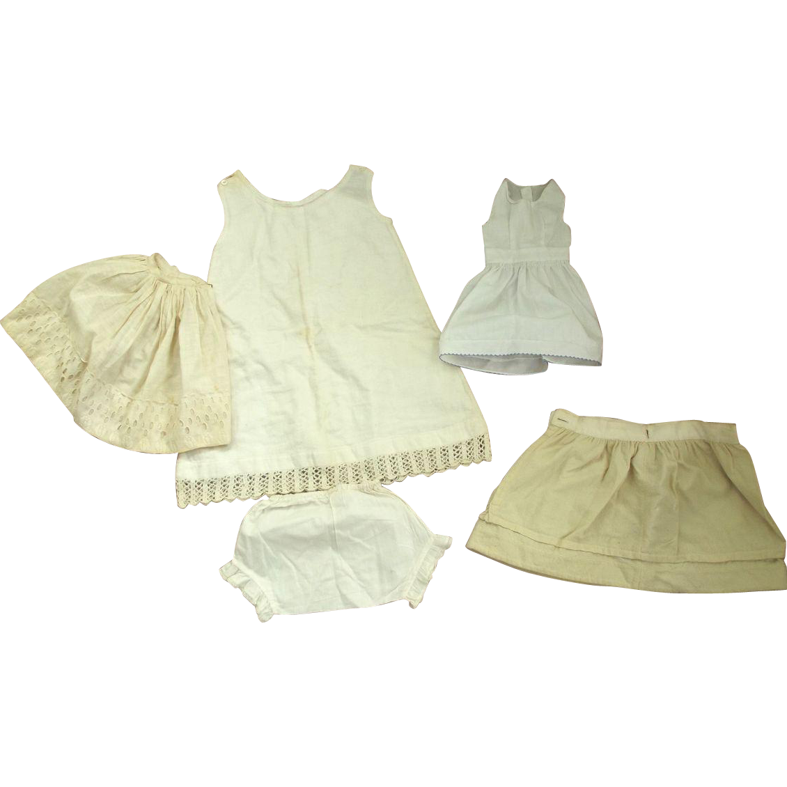 Five Pieces Of Doll Undies