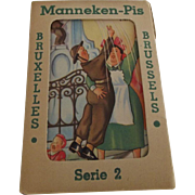 Mannekin Pis Post Card Packet