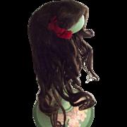 Human Hair Doll Wig