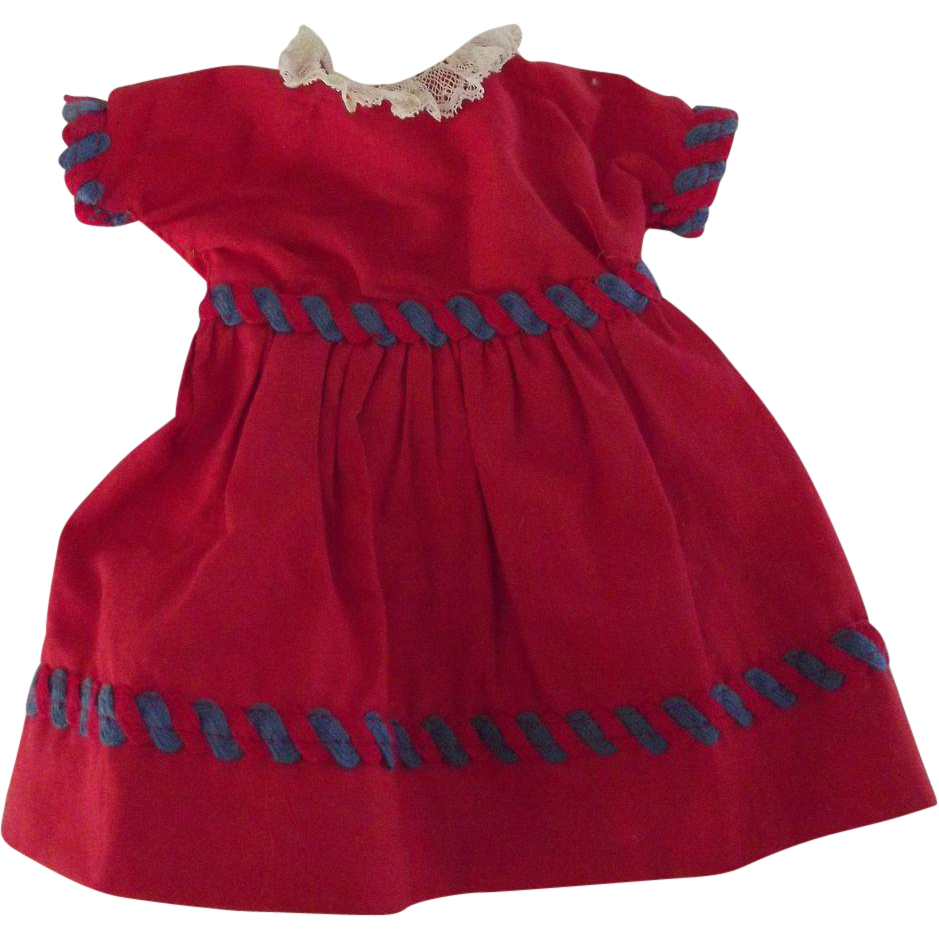 Red Doll Dress