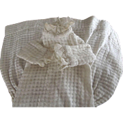 Early Dress For A Kid Bodied Doll