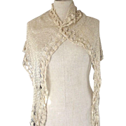 Silk Crocheted Shawl