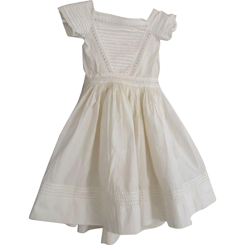 Civil War Child's Dress, Great For A Large China Doll