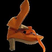Orange Boudoir Doll Shoes