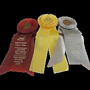 Vintage (1978) Dog Show Ribbons