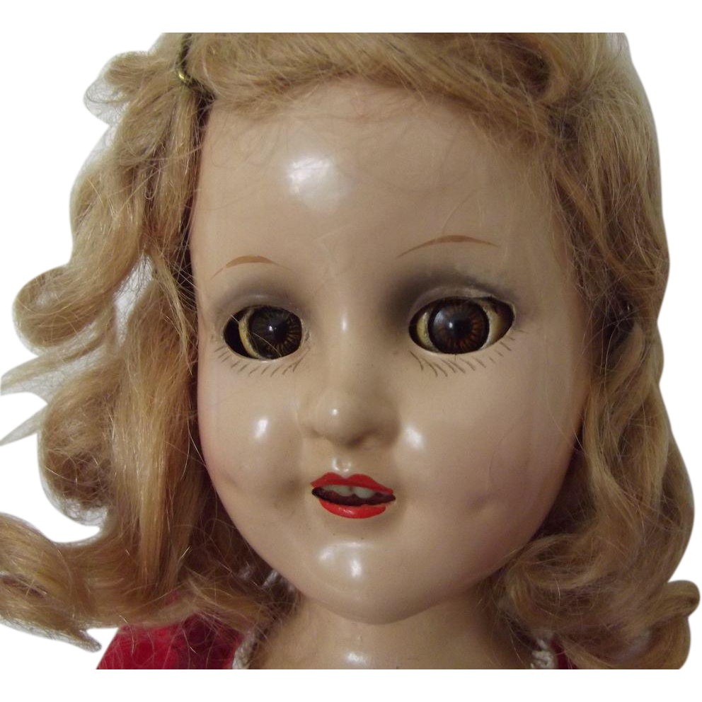 Madam Alexander Sonja Henie Doll All Original