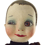 Winking Cloth Doll