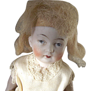 All Bisque Painted Intaglio  Eye Doll