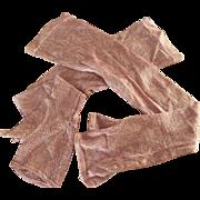 Early Pink Long Fingerless Gloves