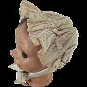 Poke Bonnet For Doll