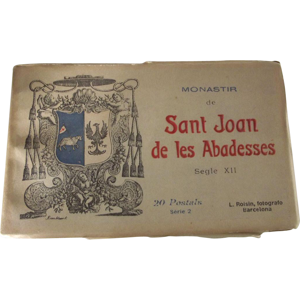 """Postcard Album """"Monastir de Sant Joan de les Abadesses"""""""