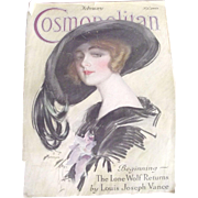 Cosmopolitan Magazine From 1923, Great Ads For Cars,Clothing, Early Actress Photos