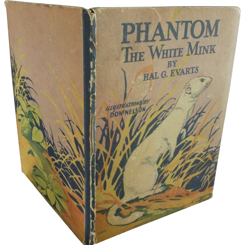 Phantom The White Mink Children's Book