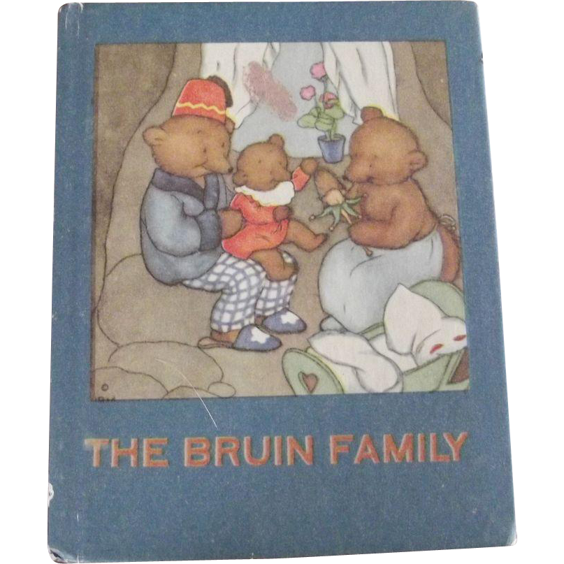 "Children's Book ""The Bruin Family"", Story About A bear Family"