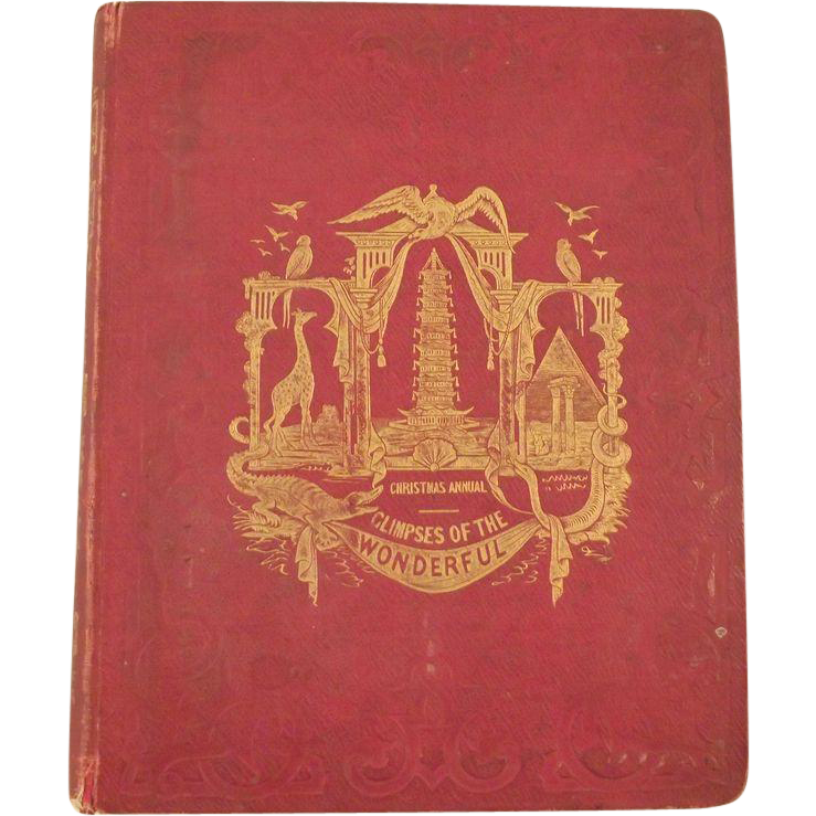 Christmas Annual Glimpses of the Wonderful  1845