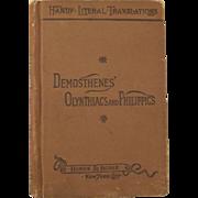 Demosthenes' Olynthiacs and Philippics