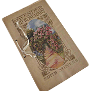 "Edwardian Book ""Lavender And Rosemary"""