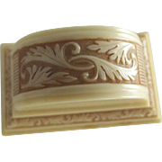 Fancy Ring Box With Feather Design