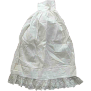 Fine Lawn and Lace Long Half Slip For Baby Doll or Other Doll