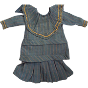 Two Piece Dress For A Large Doll As Is