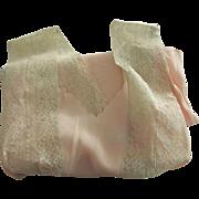 Peach  Bias Cut Vintage Nightgown 30's or 40's