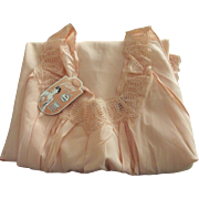 Vintage Peach Nightgown Unworn With Original Tag, Bias Cut, Size 36