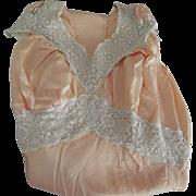 Peach Bias Cut Nightgown 30's or 40's