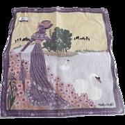 Vintage Fisba Stoffels Handerkerchief
