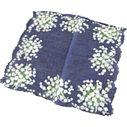 Handkerchief With Lillys of the Valley