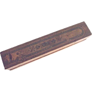 Early Wood Pencil Box - Red Tag Sale Item