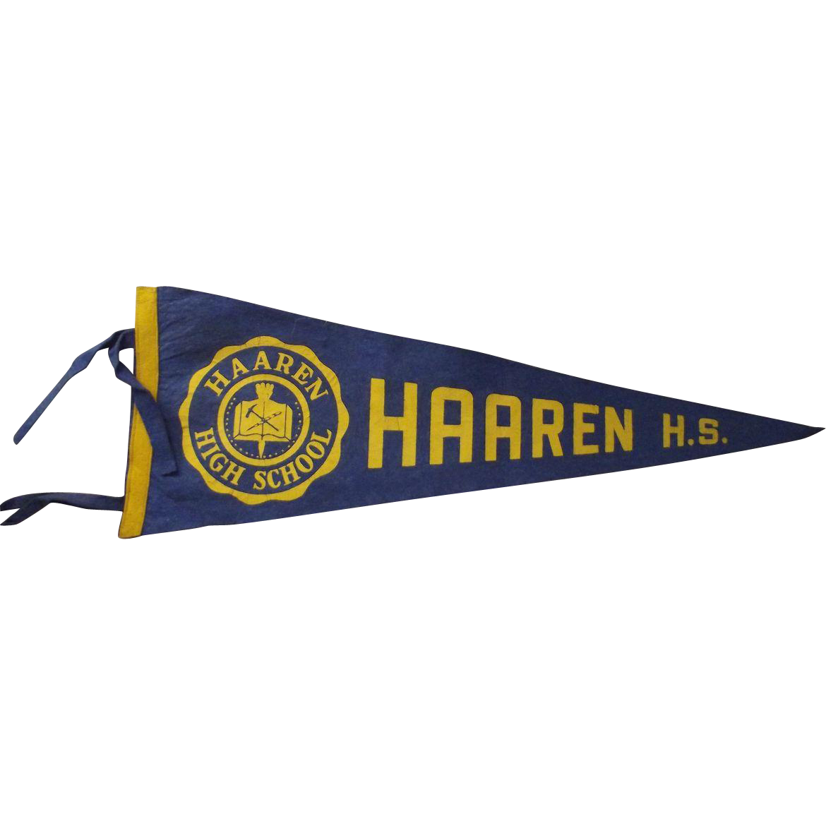Haaren High School Pennant Manhatten New York City