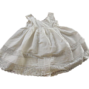 Toddler's Whole Slip With Tucks and Fine Lace