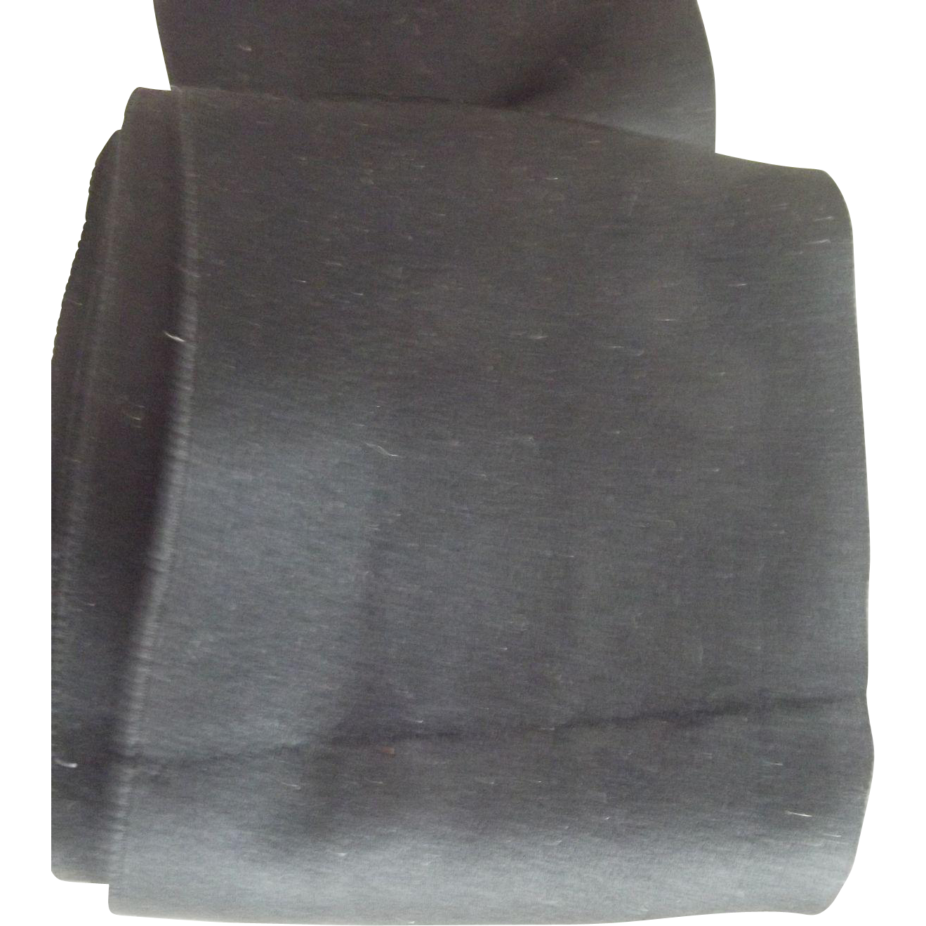 Wide Soft Satin Black Ribbon For Doll Bonnets, dress Trim