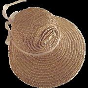 Straw Poke Bonnet
