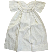 Baby or Doll Gown With Double Collar