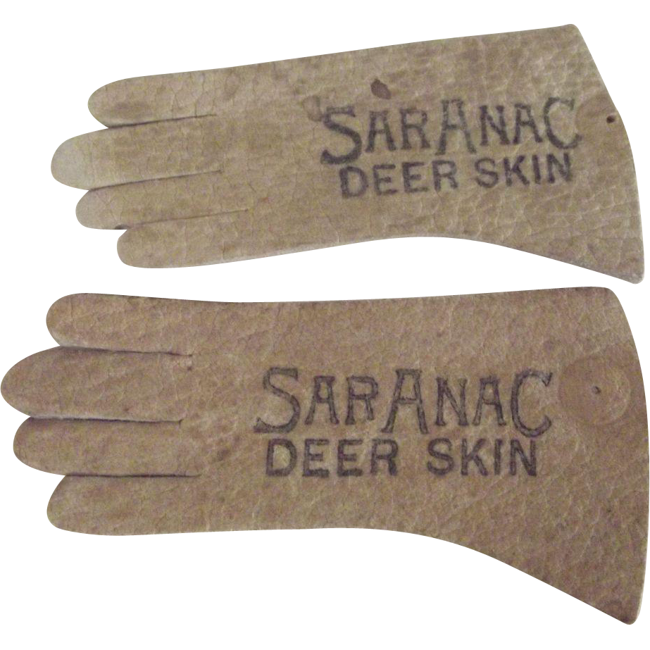 Salesman's Sample Gloves Saranac Lake