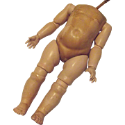 Chunky Side Hip Fully Jointed Doll's Toddler Body