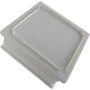 "White ""Traditional"" Ring Box"