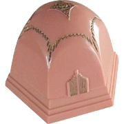 Art Deco Pink Ring Box