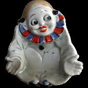 Art Deco Googly Eyed Clown Dish