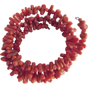 Branch Coral Coiled Bracelet